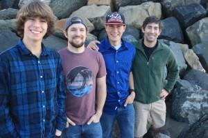 The four Seither boys...January 2015.