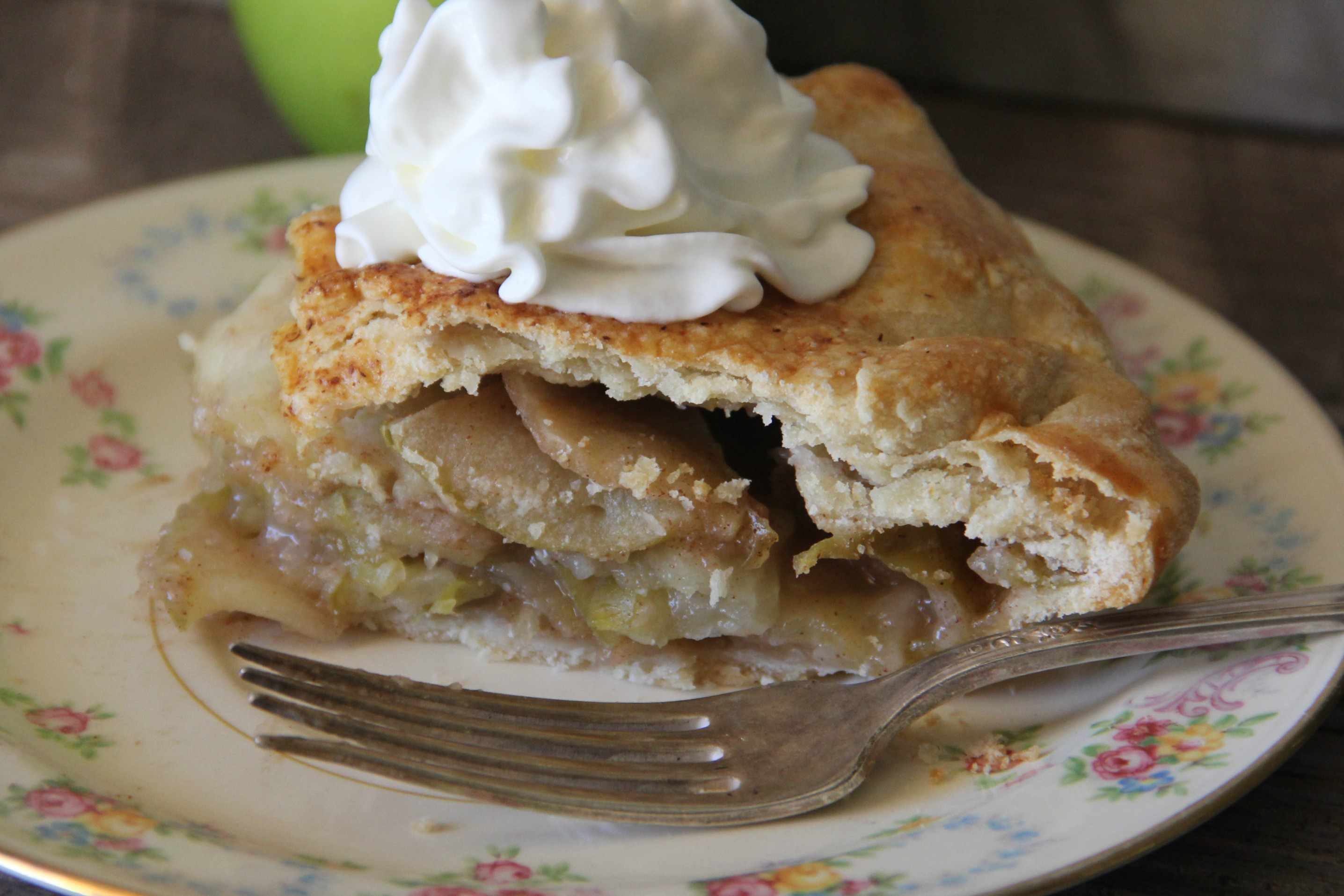 Apple Galette- Pie..with its own sense of style!